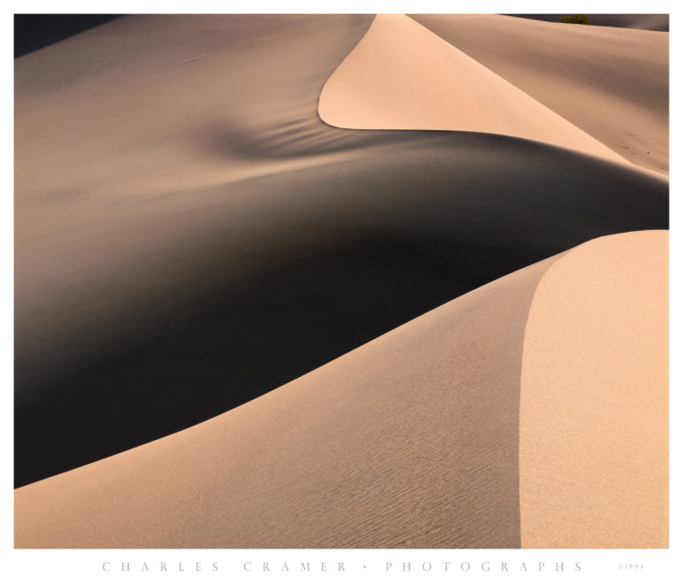 Dune Crests, Sunrise, Sand Dunes, Death Valley
