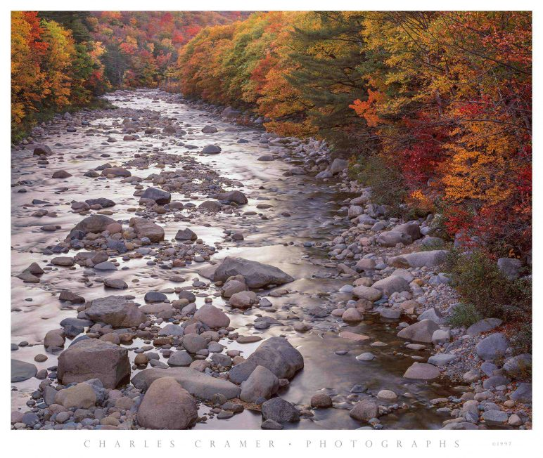 Autumn Evening, Swift River, White Mountains, NH