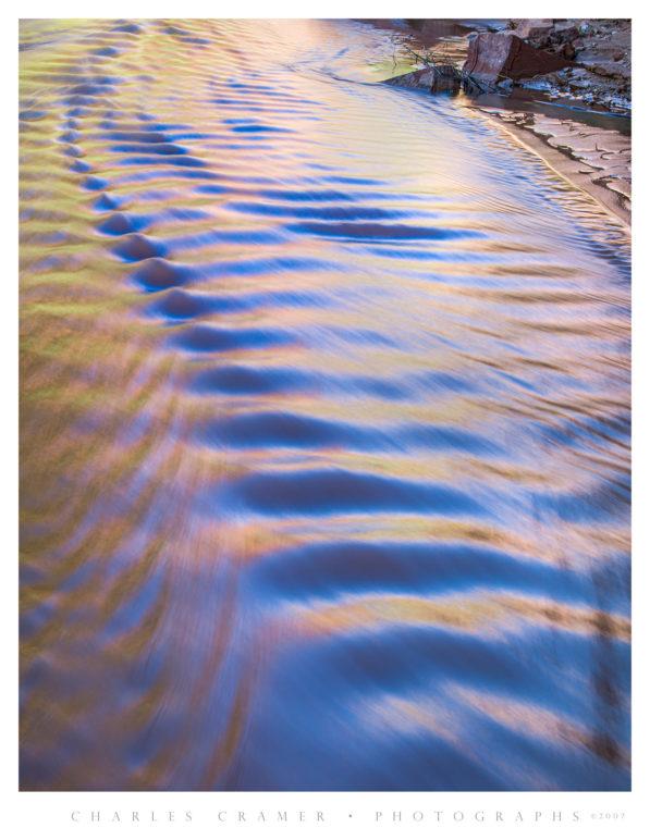 Coyote Creek Ripples, Coyote Canyon, Utah