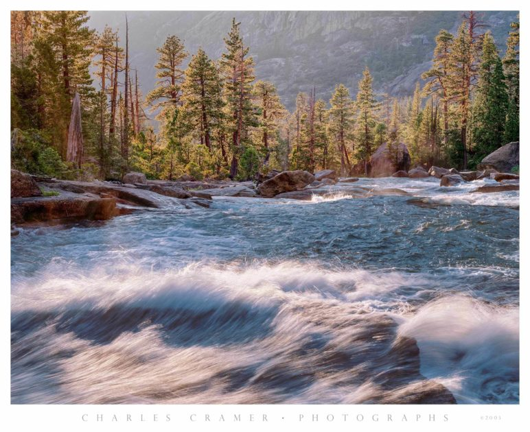 Tuolumne River, below Waterwheel Fall, Yosemite