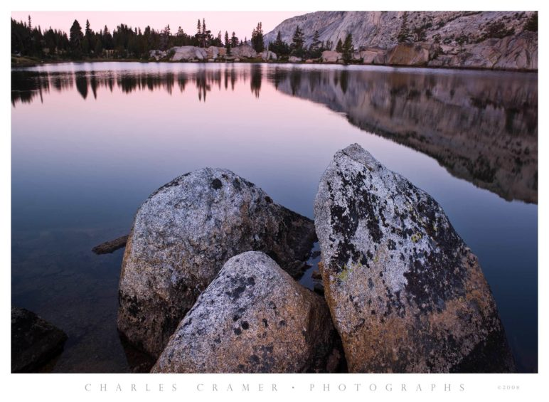 Dawn, Boothe Lake, Yosemite