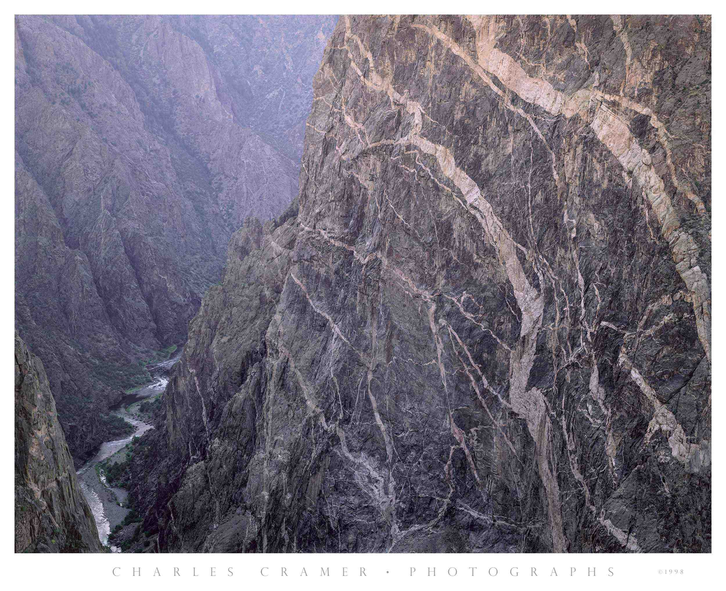 Evening,  the  Painted Wall ,  Black Canyon of the Gunnison