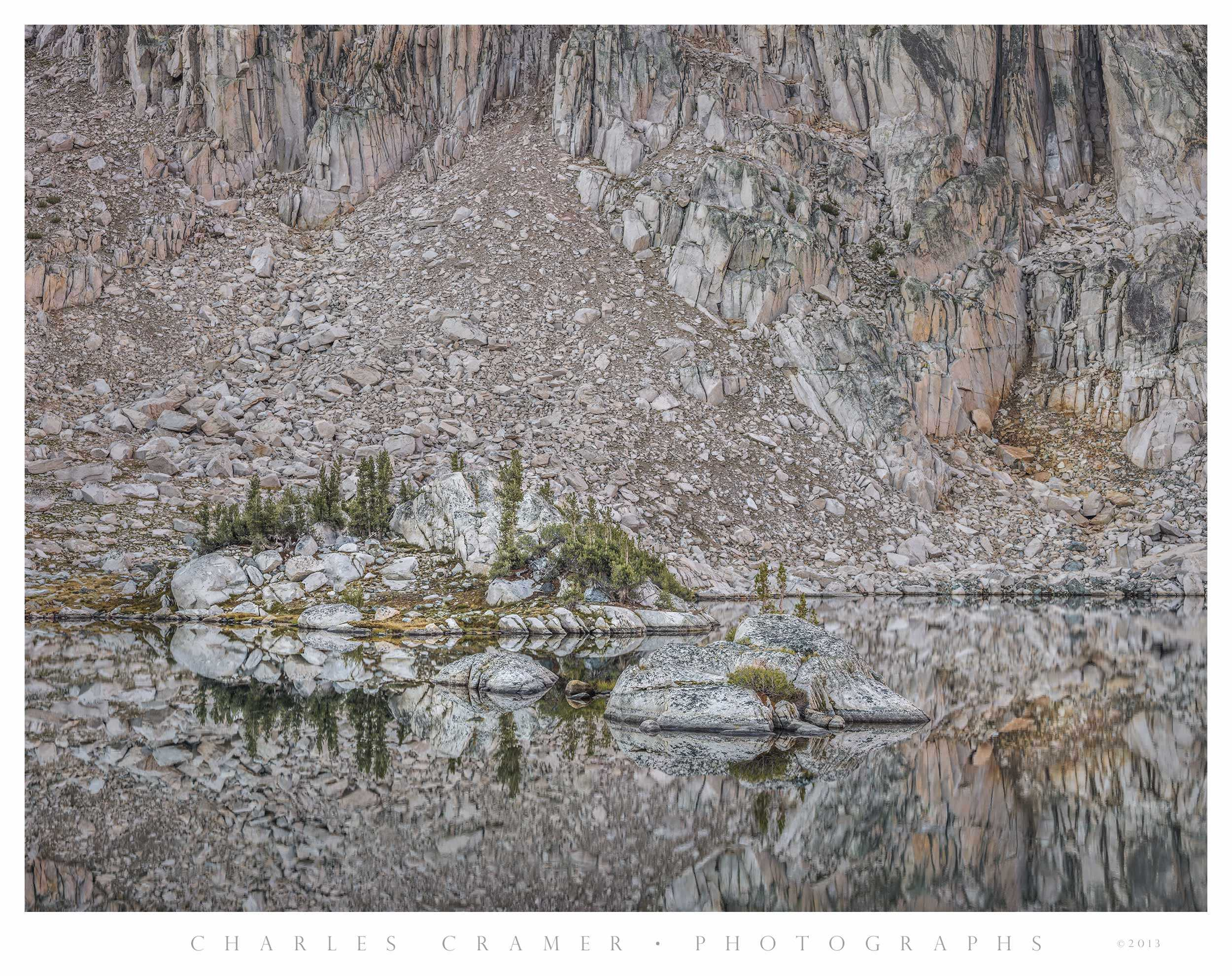 Islands, Sixty Lakes Basin, Kings Canyon