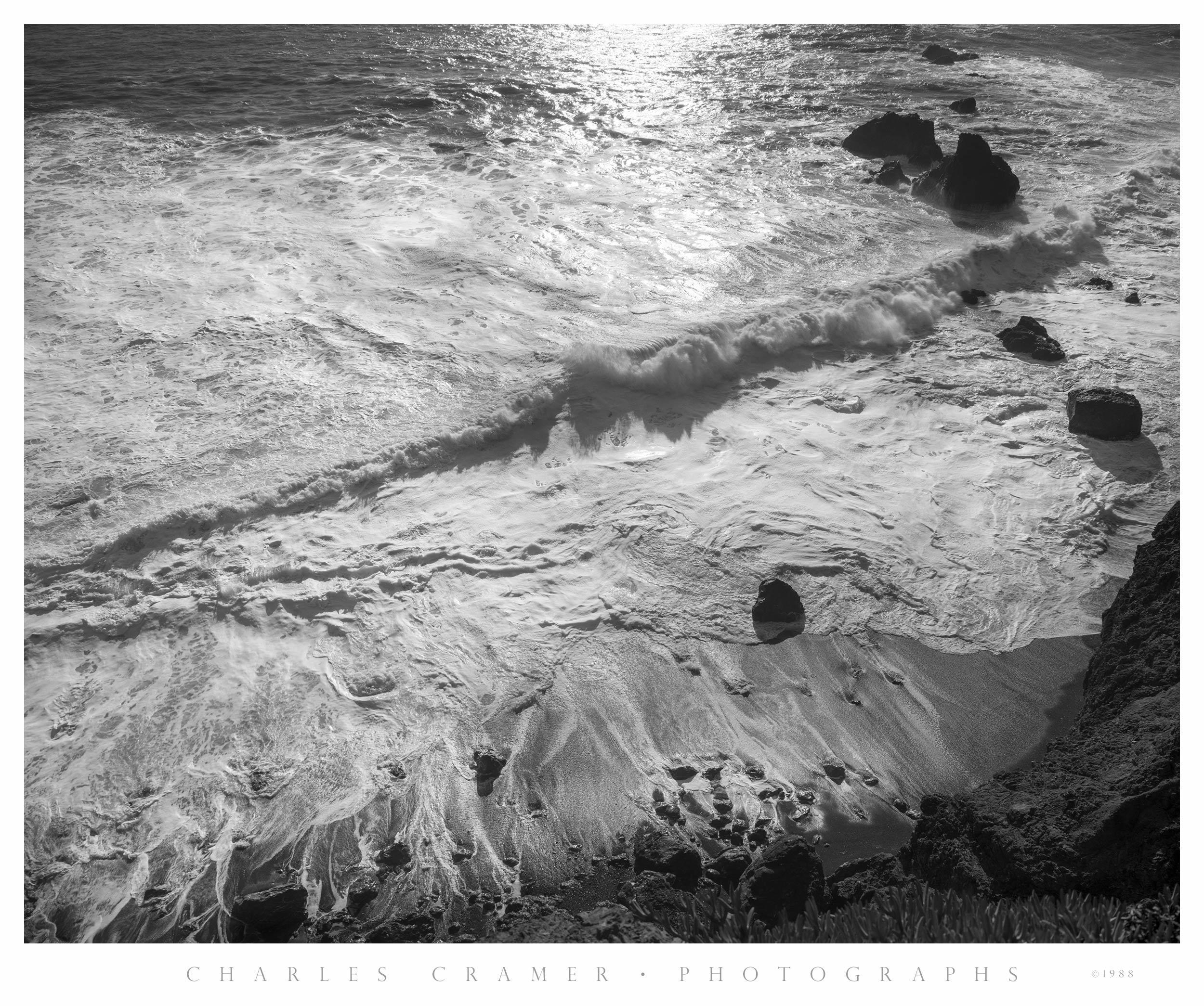 Last Light, Breaking Waves, Garrapata Beach