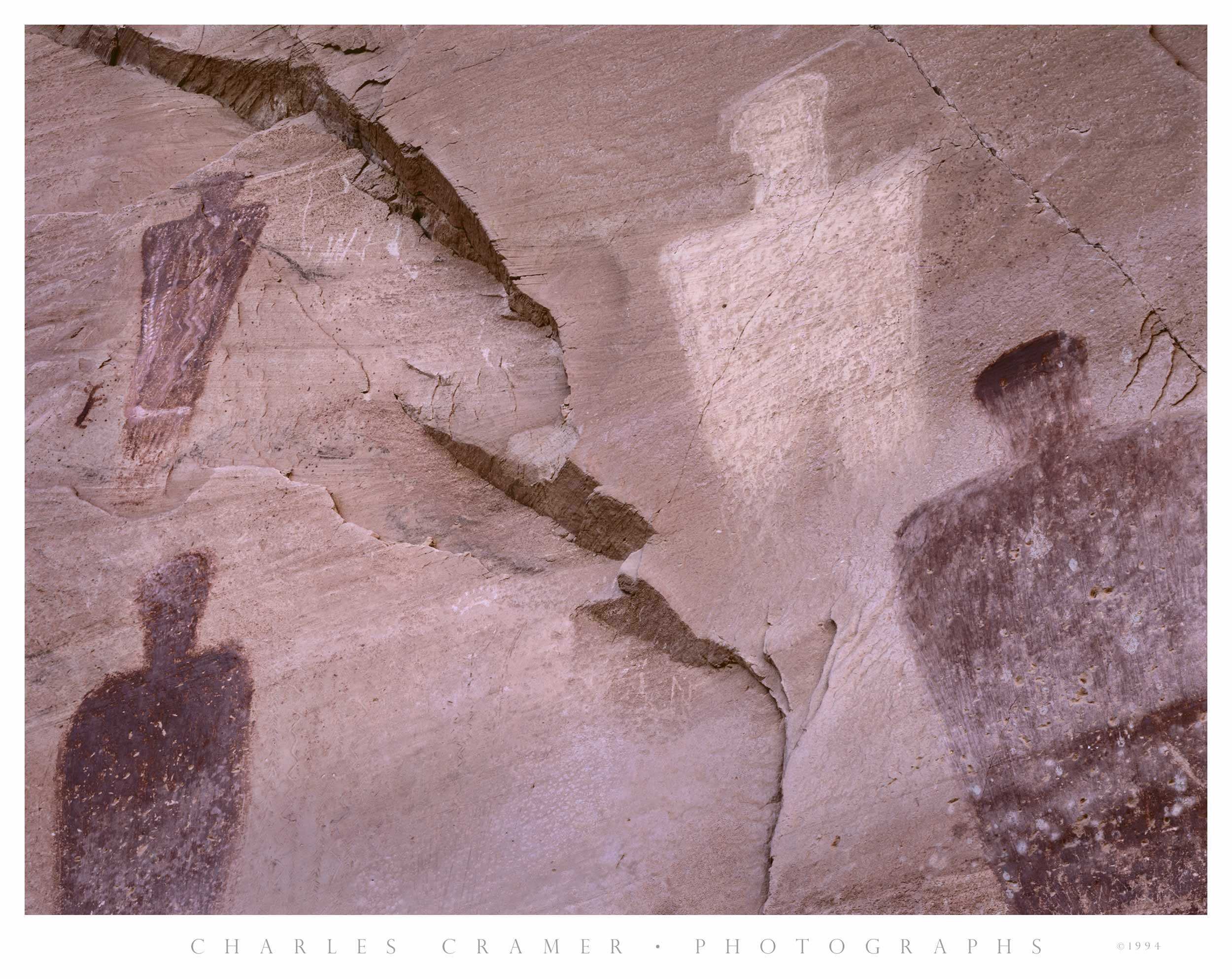 Four Figures,  Horseshoe Canyon, Utah