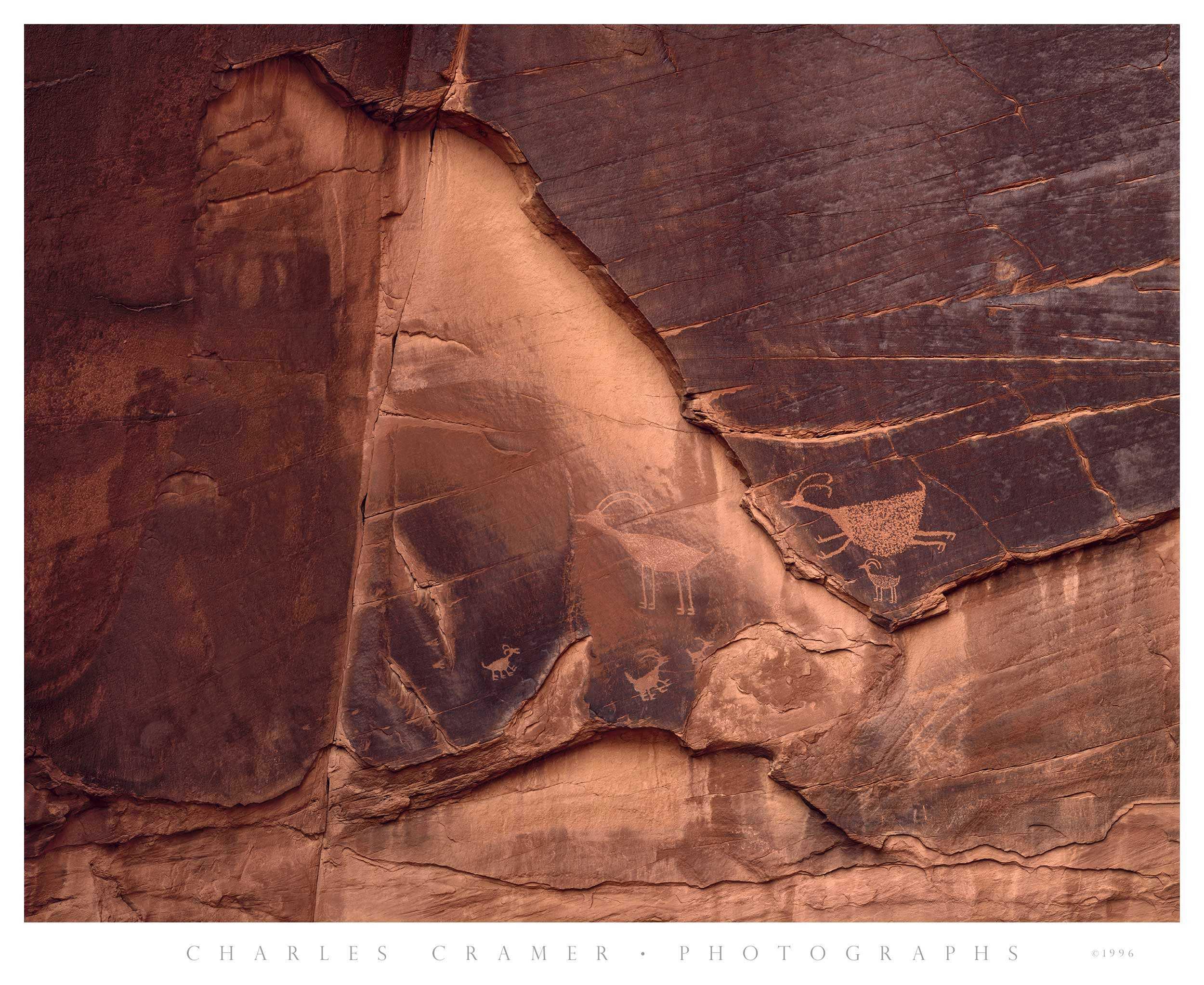 Petroglyphs, Monument Valley, Arizona