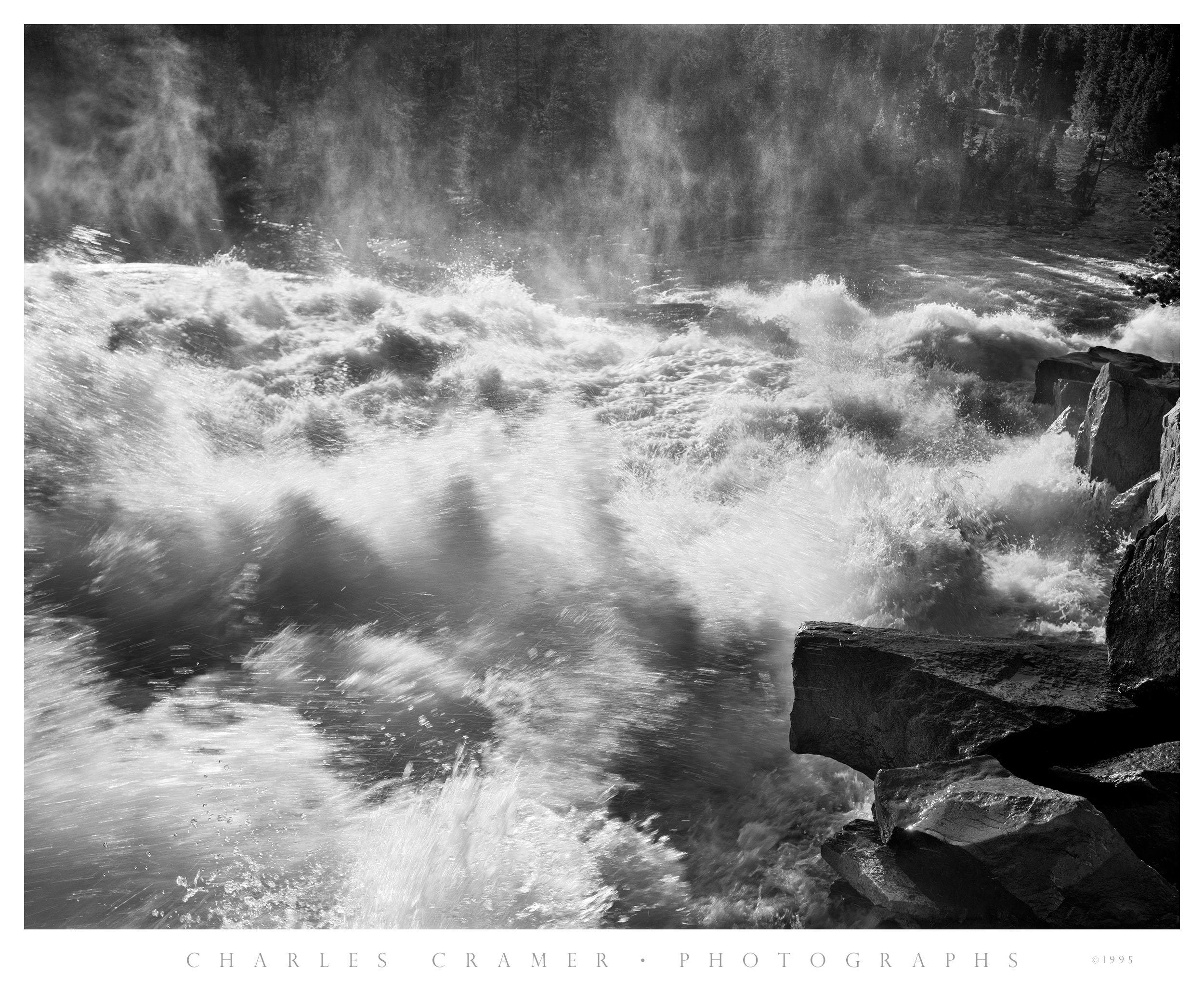 Spring Flood, Tuolumne River, Glen Aulin, Yosemite