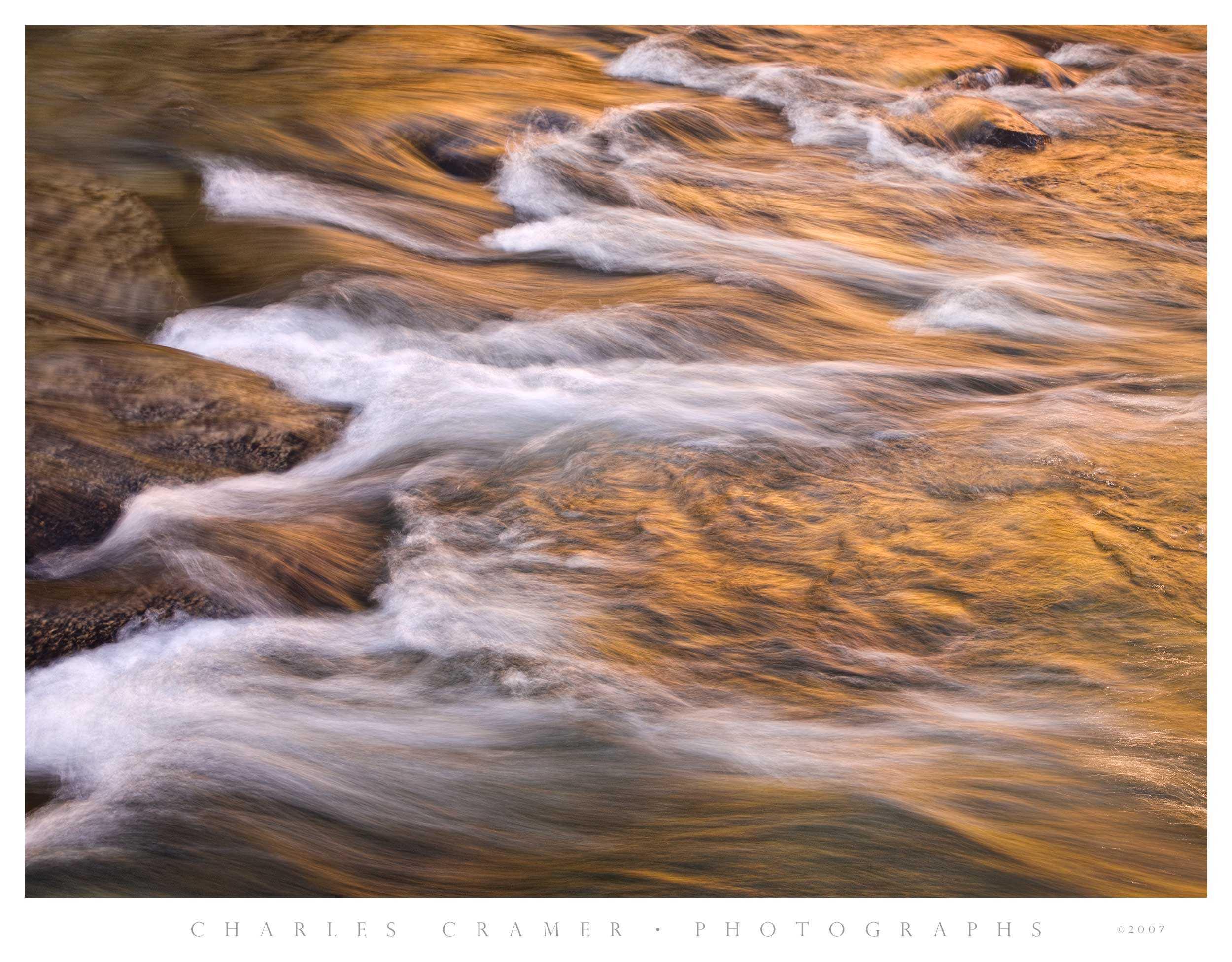 Morning Reflections, Tuolumne River, Yosemite
