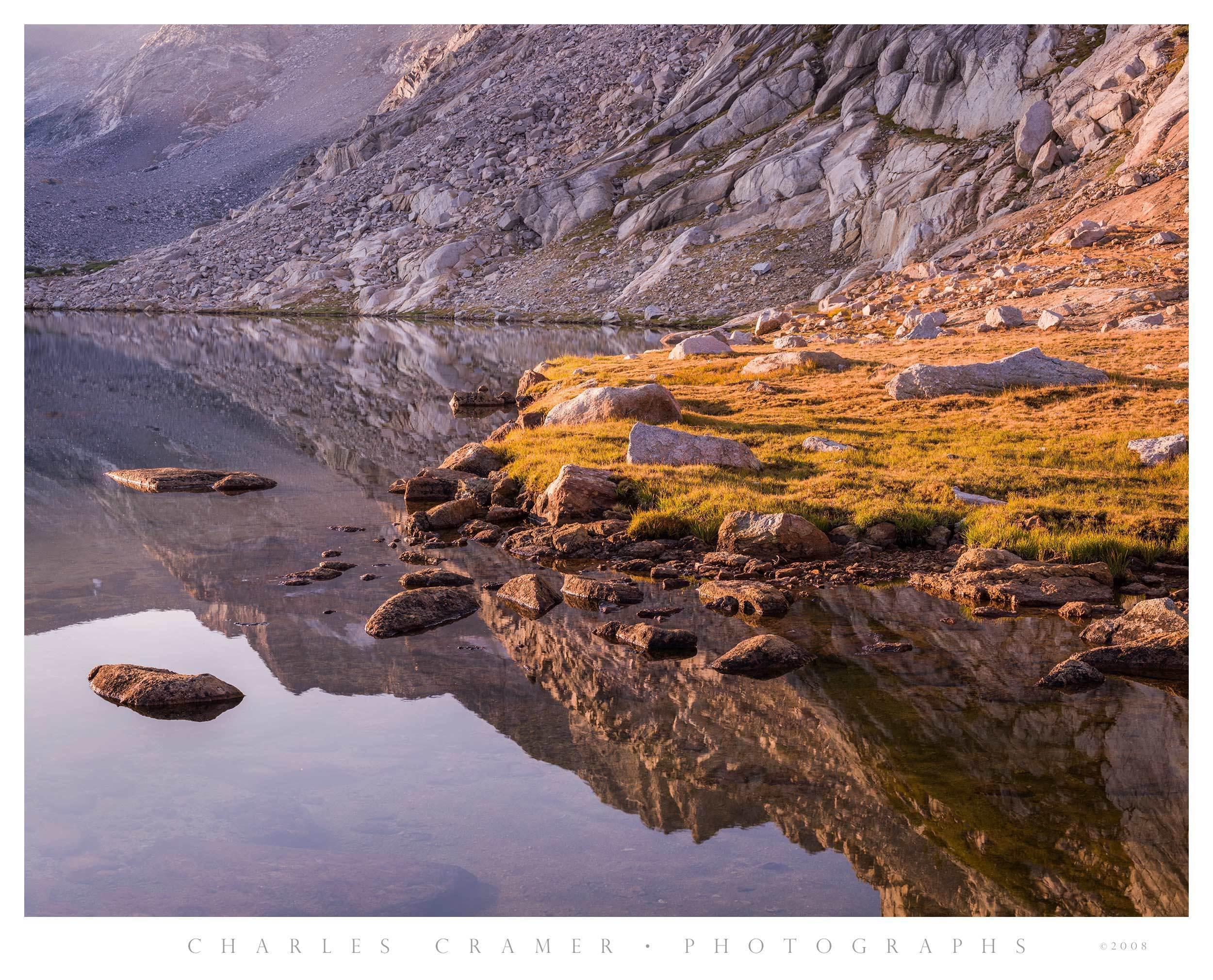 Alpine Lake, Yosemite Backcountry, Yosemite